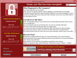WannaCry Ransomware Cyber Attack