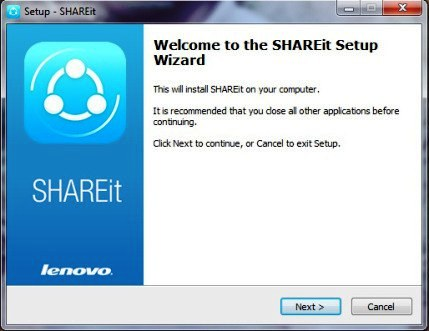 connection error in Shareit PC