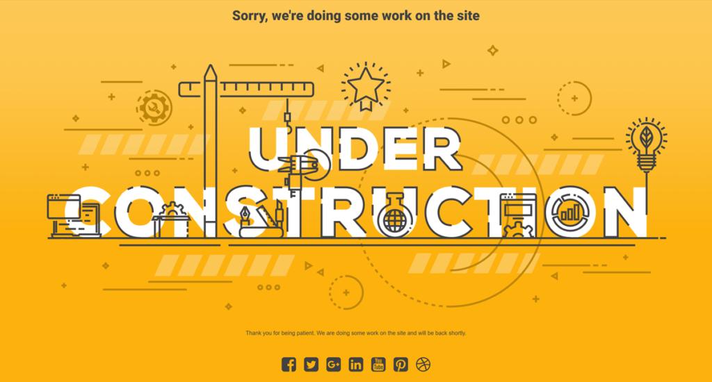 UnderConstruction Plugin