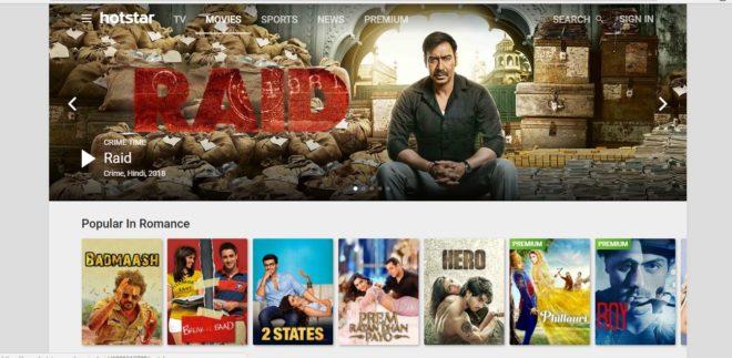 best movie streaming websites