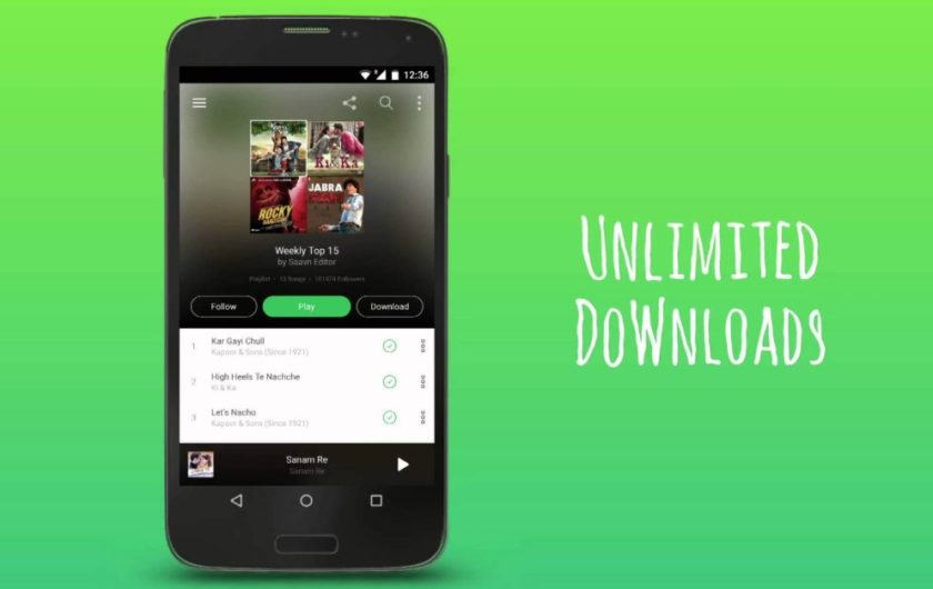 Saavn Pro Apk Download